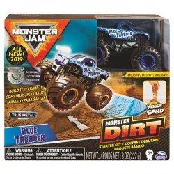 Monster Jam Zestaw z Piaskiem Kinetycznym