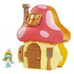 Smerfy domek zestaw z figurką miks
