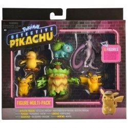 Wicked Cool Toys Pokemon Detektyw Pikachu Figurki Multipack