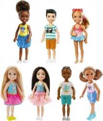 Mattel Barbie Chelsea i przyjaciółki Ast.