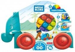 Mattel Mega Bloks Spacerowy Słonik