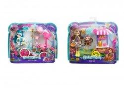 Mattel Enchantimals Lalka + Pojazd Ast.