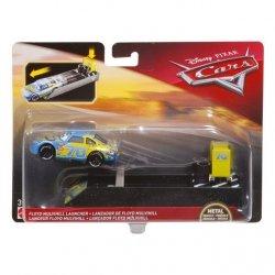Mattel Cars Pojazd + wyrzutnia Ast.