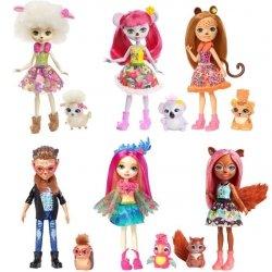 Mattel Enchantimals Lalka + zwierzątko dodatkowe Ast.