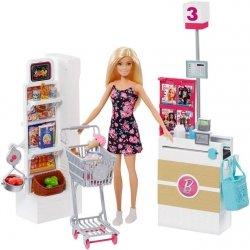 Mattel Barbie Supermarket Zestaw