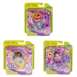 Mattel Polly Pocket Kieszonkowe zestawy Ast.