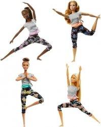 Mattel Barbie Lalki Made to Move Kwieciste Ast.