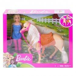 Mattel Barbie Lalka Koń podstawowy