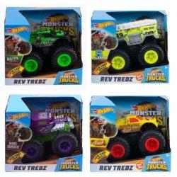 Hot Wheels Monster Trucks Pojazd Rev Tredz 1:43 Ast.