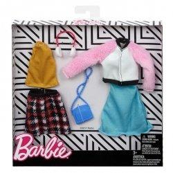 Mattel Barbie Ubranka + akcesoria 2-pak Ast. CDU