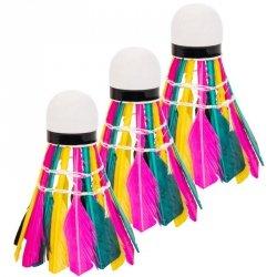 Lotka Badminton Z Piór Enero 3Szt Kolor