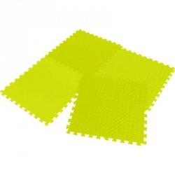 Mata Puzzle Piankowe Eva 60X60 Kpl. 4Szt Enero Żółta