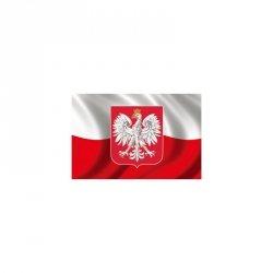 Naklejka Magentyczna 30X20Cm Polska Polska Godło