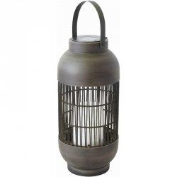LAMPA SOLARNA KOLUMNA RATTAN wys. 43cm