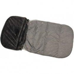 Śpiworek Zimowy Dla Dzieci 90X45Cm Polar Szary / Melanż