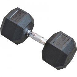 Hantla gumowa Hex 27,5 kg eb fit