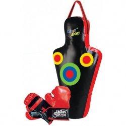 Zestaw bokserski junior Enero manekin 59,5x17x34,5cm + rękawice