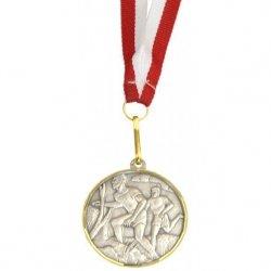 Medal Promo 40Mm Biegi Srebrny 268612