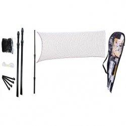 Zestaw Badminton Siatka + Słupki Enero 700