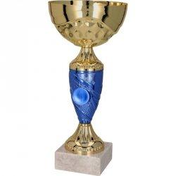 Puchar Metalowy Złoto-Niebieski T-M 9058H