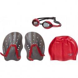 Zestaw Speedo Training Pack okularki, czepek, wiosełka L