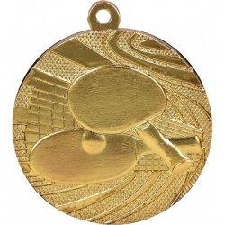 Medal 40mm złoty tenis stołowy MMC1840/G