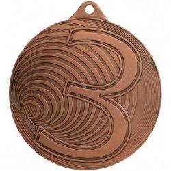 Medal Brązowy 3 Miejsce - Medal Stalowy