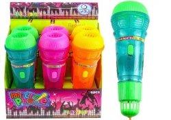 Mikrofon Na Baterie Echo Ze Światłem 3 Kolory
