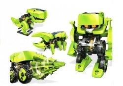 Robot Solarny 4 w 1 Baterie Słoneczne Dinozaur DIY