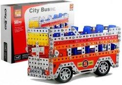 Duży Zestaw Klocki Konstrukcyjne Bus 563 Elementy