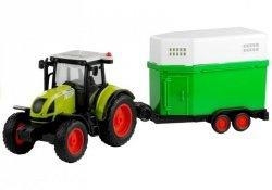 Traktor z Przyczepką Na Konia Napęd Friction 37,5