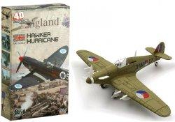 Samoloty Hawker Hurricane Modele Puzzle 4D 1:48