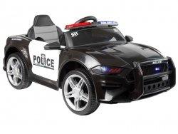 Auto na Akumulator BBH0007 Policja Czarny