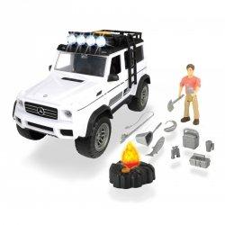 Dickie Play Life - Zestaw Podróżnika Samochód Mercedes-Benz + Akcesoria