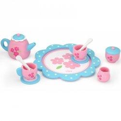 Drewniana Zastawa Filiżanki Naczynia do kawy i herbaty Viga Toys