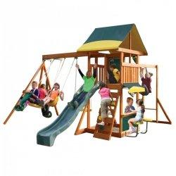 KidKraft Wielofunkcyjny Drewniany Plac zabaw Brookridge 10w1