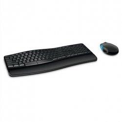 Microsoft L3V-00009 Sculpt Comfort Desktop Multimedia, Wireless, Keyboard layout NO/EN, Black, Numeric keypad