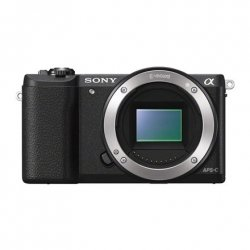 Sony ILCE5100B.CEC Mirrorless Camera body, 24.3 MP, ISO 25600, Display diagonal 3.0 , Video recording, Wi-Fi, Black, Image stab