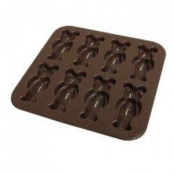 Yoko Design Bear mould baking forms Brown, Dishwasher proof