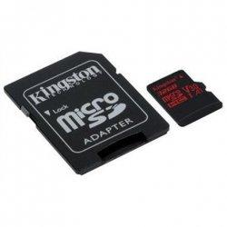 Kingston UHS-I Video Speed Class (V30) 32 GB, MicroSDHC, Flash memory class 10, SD adapter