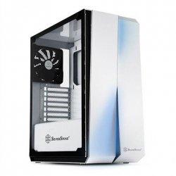 SilverStone Redline RL07 Side window, White, ATX, Power supply included No