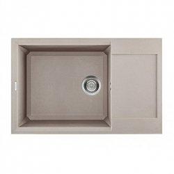 Elleci EASY LGY31043 310 79x50 1 VG Tortora 43 Sink, 780 × 500 × 215 mm, granit Elleci