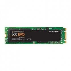 Samsung 860 EVO 1000 GB, SSD interface M.2, Write speed 520 MB/s, Read speed 550 MB/s