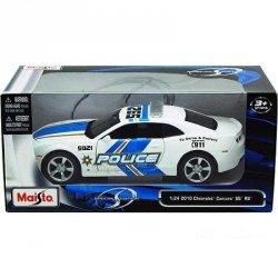 Maisto Die Cast Chevrolet Camaro SS RS Police Car 2010 1:24 , 31208 KO