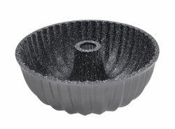 Stoneline Bundt forma do pieczenia ciasta 8023 Srebrnoszary, powłoka nieprzywierająca,
