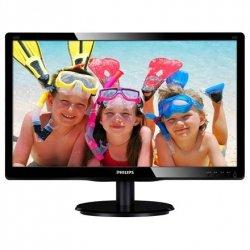 Philips 220V4LSB/00 22 , TFT-LCD, 1680 x 1050 pixels, 16:10, 5 ms, 250 cd/m², Black, • Signal Input: VGA (Analog ), DVI-D (digi