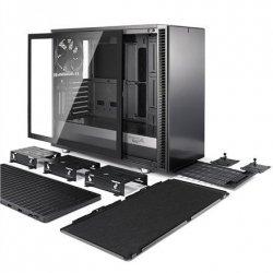 Fractal Design Define S2 Side window, Gunmetal, E-ATX, Power supply included No