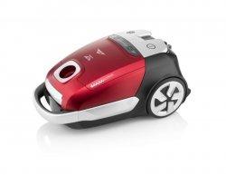 ETA Vacuum Cleaner ADAGIO Bagged, Red, 800 W, 4.5 L, A, A, A, A, 66 dB, HEPA filtration system, 230 V