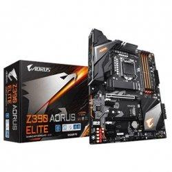 Gigabyte Z390 AORUS ELITE Processor family Intel, Processor socket LGA1151, DDR4 DIMM, Memory slots 4, Chipset Intel Z, ATX
