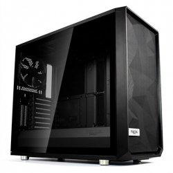 Fractal Design Meshify S2 Black - Dark TG Side window, Black, E-ATX, Power supply included No
